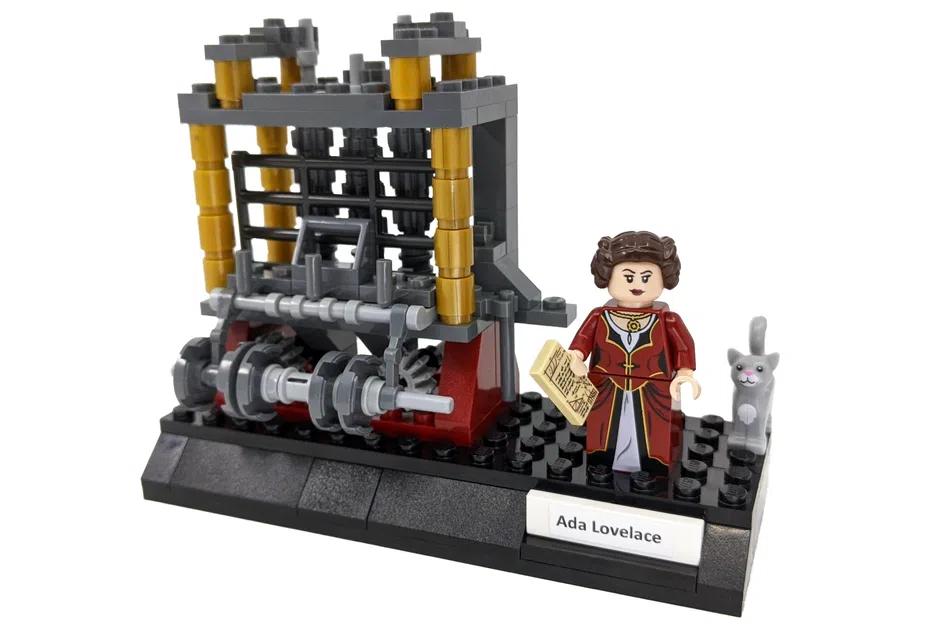 LEGO Ideas Women of Computing 2