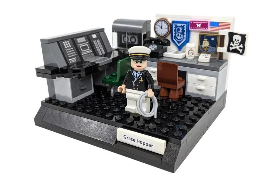 LEGO Ideas Women of computing 1