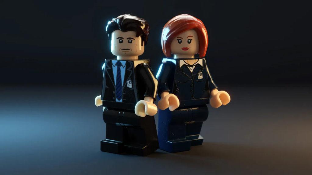 LEGO Ideas X Files Minifigures