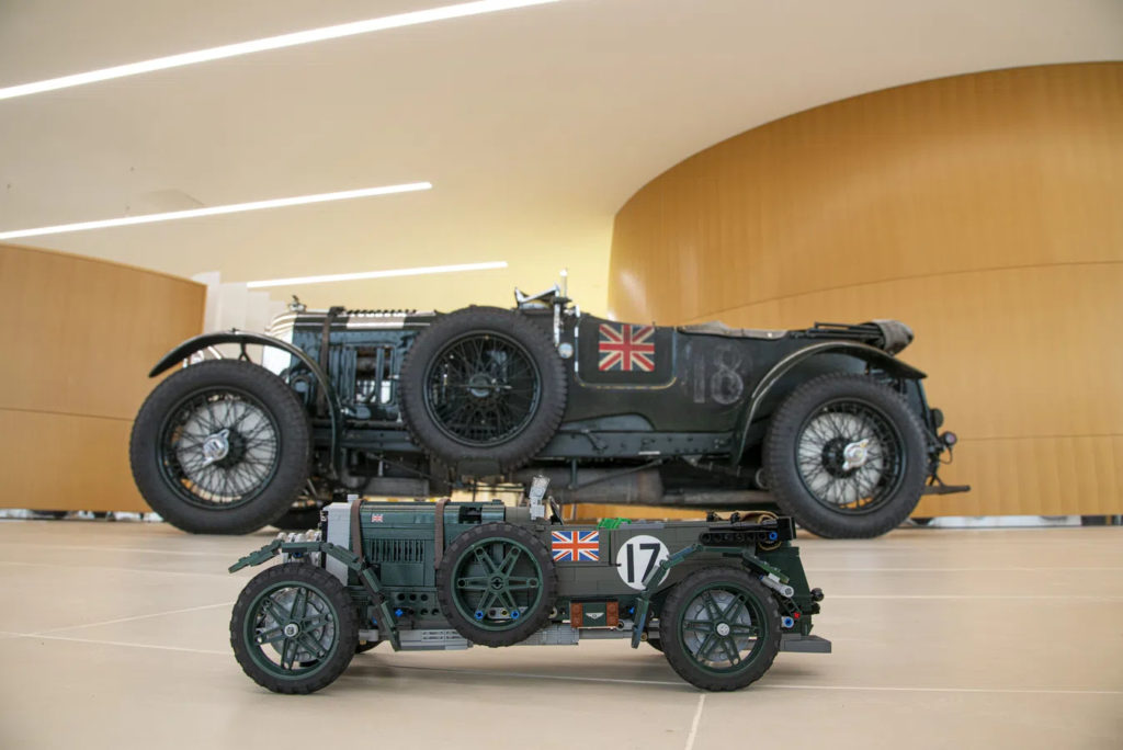 LEGO Ideas Bentley Comparison