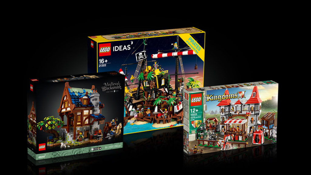 LEGO Ideas Blacksmith Contest First Place Prize