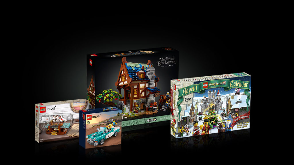 LEGO Ideas blacksmith contest second place prize