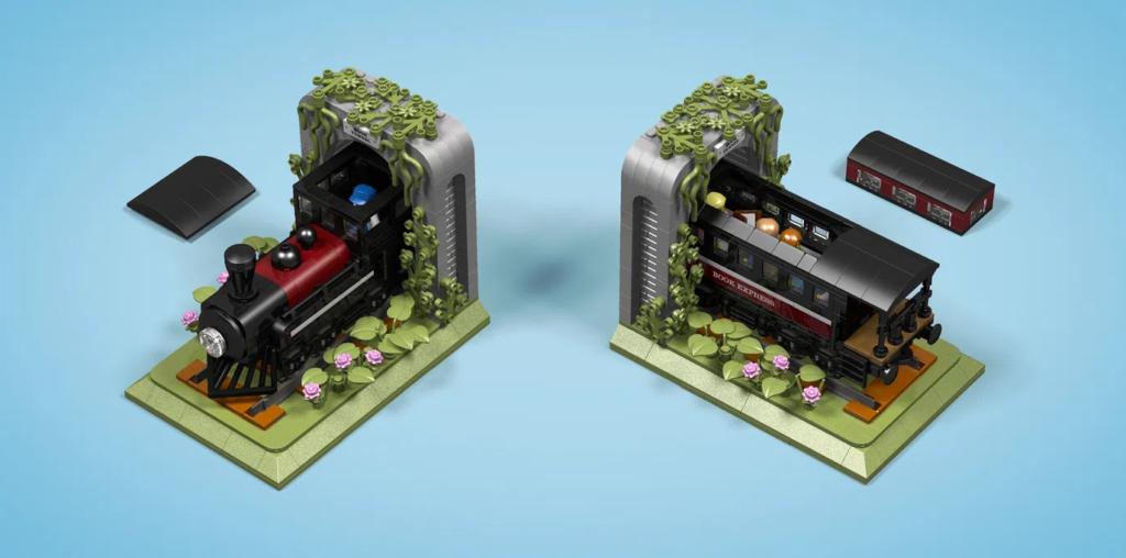 LEGO Ideas bookends 2