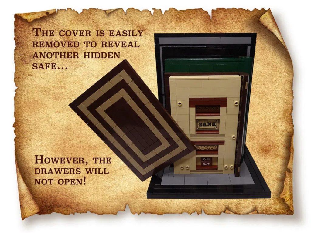 LEGO Ideas Bookends 4