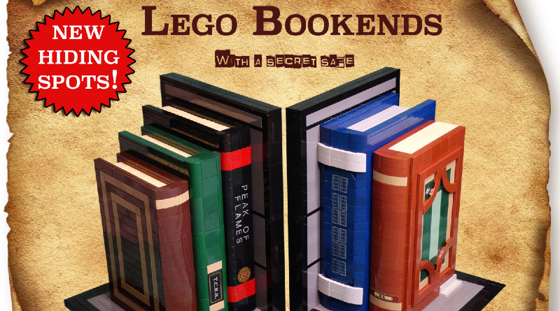 LEGO Ideas Bookends Featured