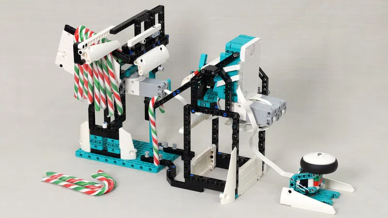 LEGO Ideas Candy Cane Catapult
