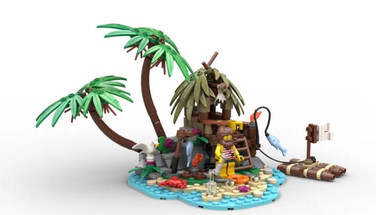 LEGO Ideas coastal contest winner