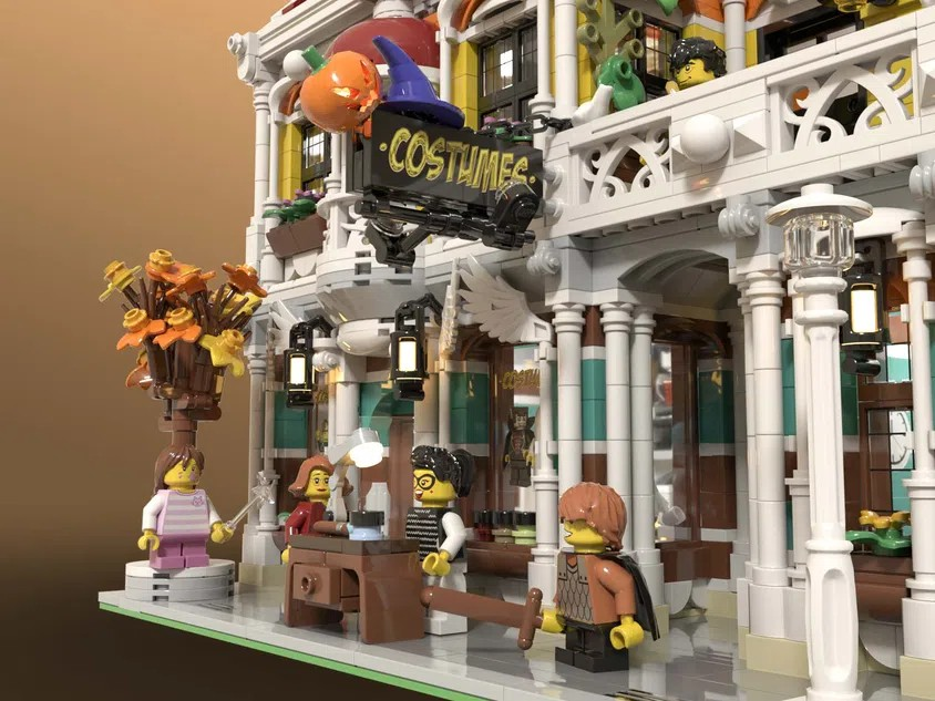 LEGO Ideas Costume Shop 1