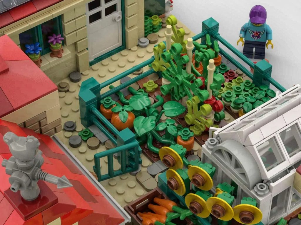 LEGO Ideas Farm Crops