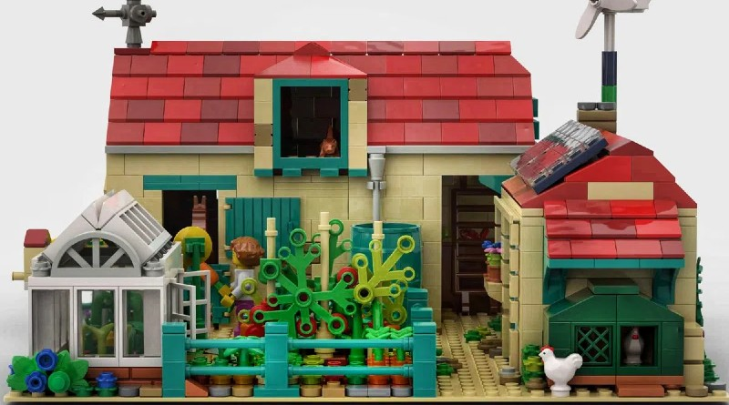 LEGO Ideas Farm Featured
