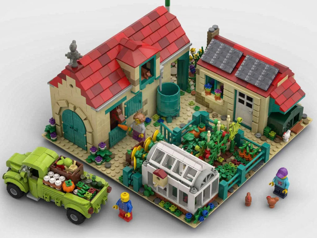 LEGO Ideas Farm Overview