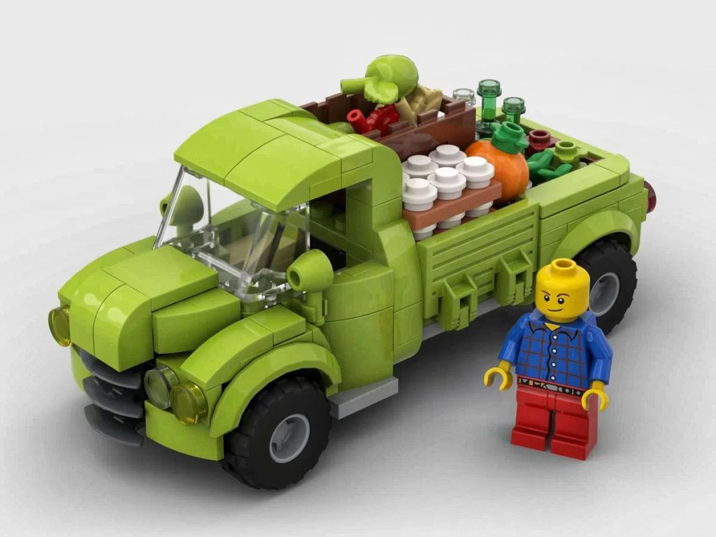 LEGO Ideas Farm Truck