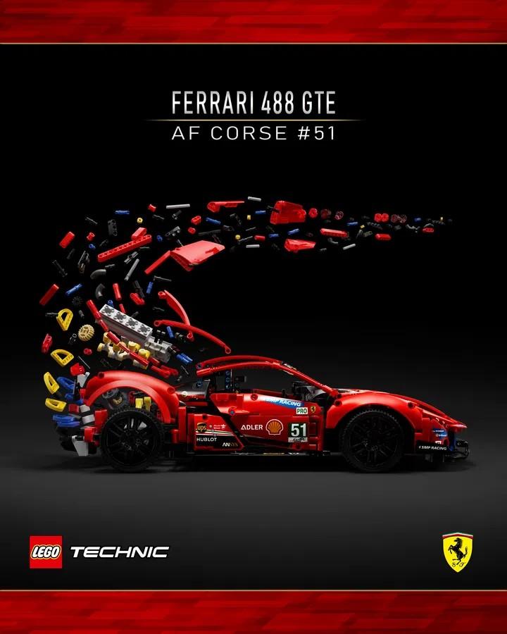 LEGO Ideas Ferrari Contest Winner 1