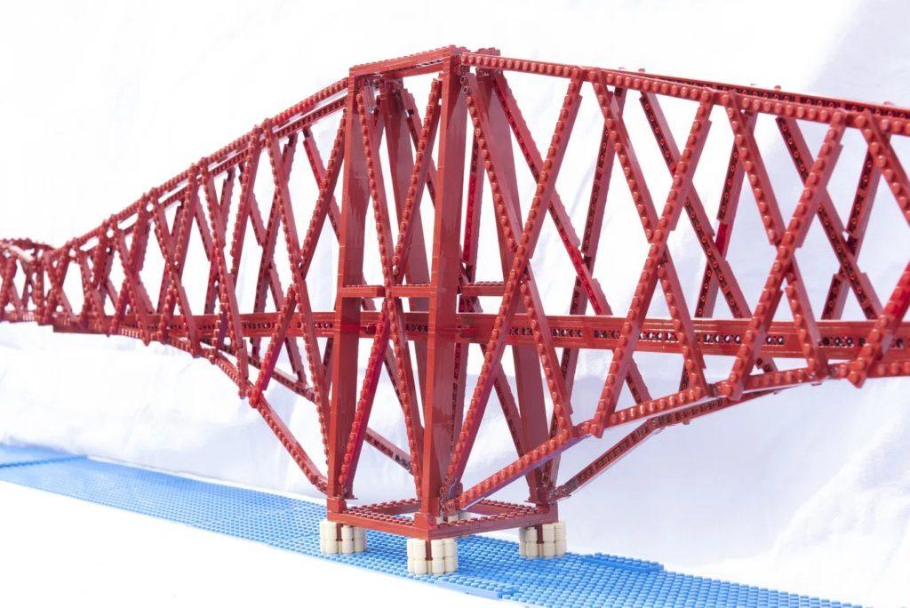 LEGO Ideas Forth Bridge Side