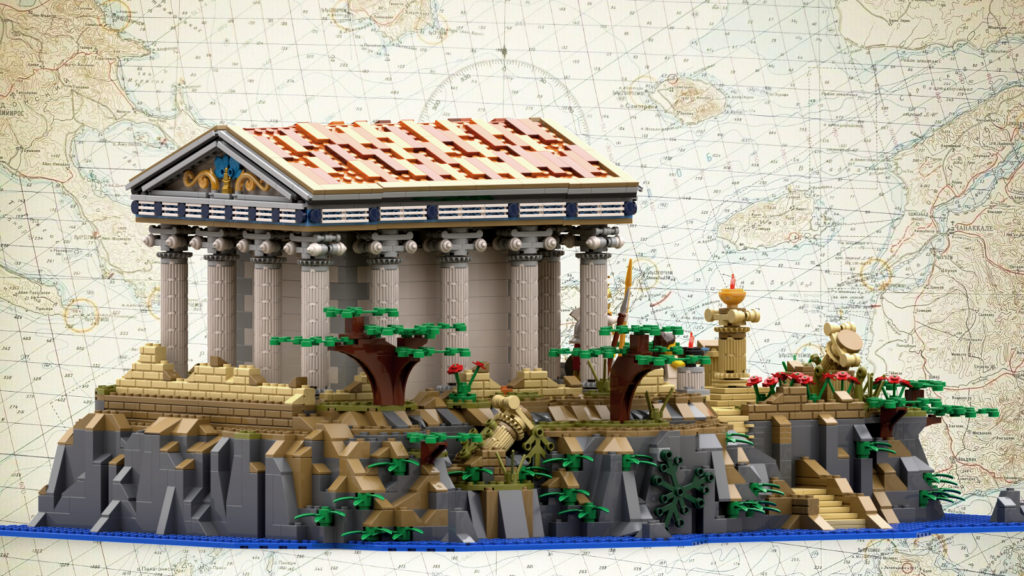 LEGO Ideas Greek Temple 1