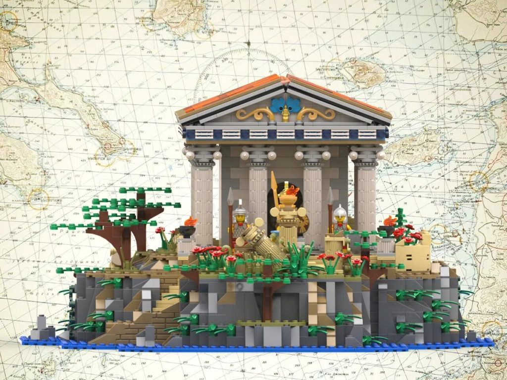 LEGO Ideas Greek Temple 2