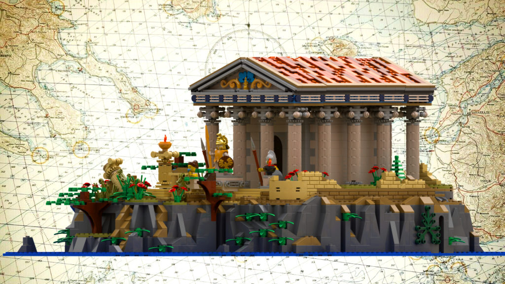 LEGO Ideas Greek Temple 3