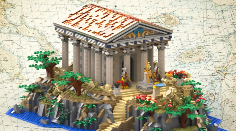 LEGO Ideas Greek Temple Featured