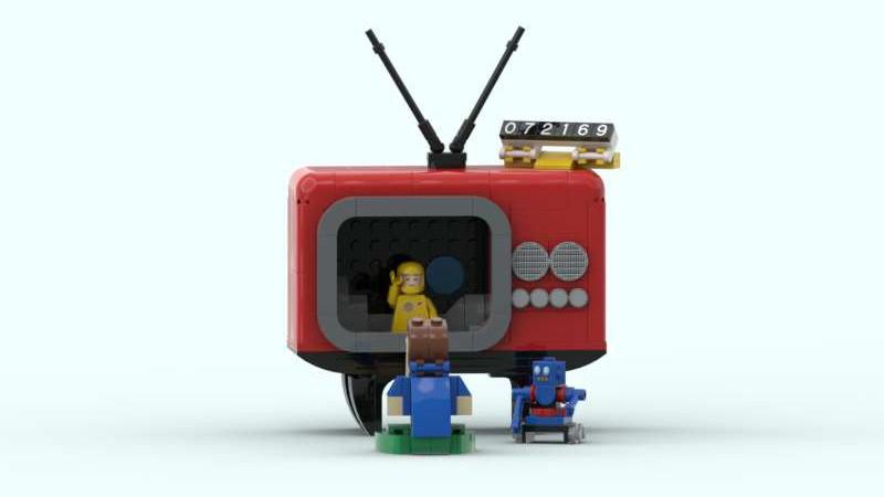 LEGO Ideas Hello From The Moon