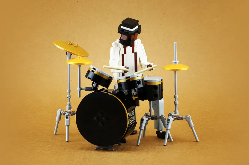 LEGO Ideas Jazz Quartet Drumkit