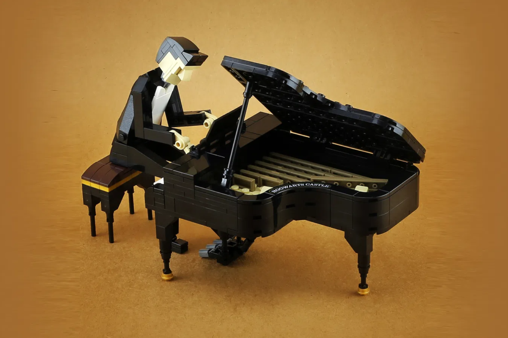 LEGO Ideas Jazz Quartet Piano