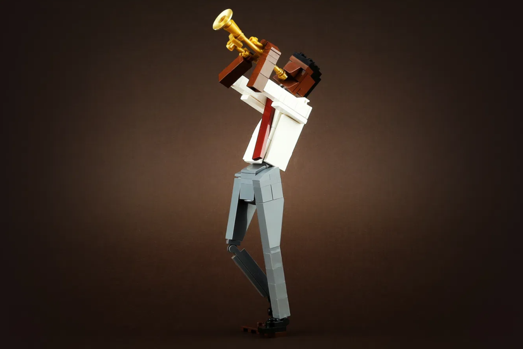 LEGO Ideas Jazz Quartet Trumpet