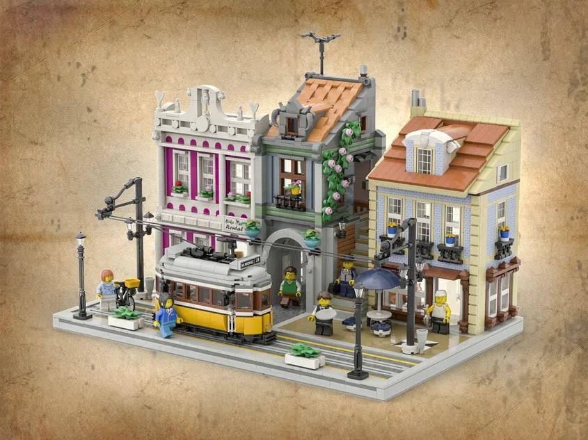 LEGO Ideas Lisbon Tram 1