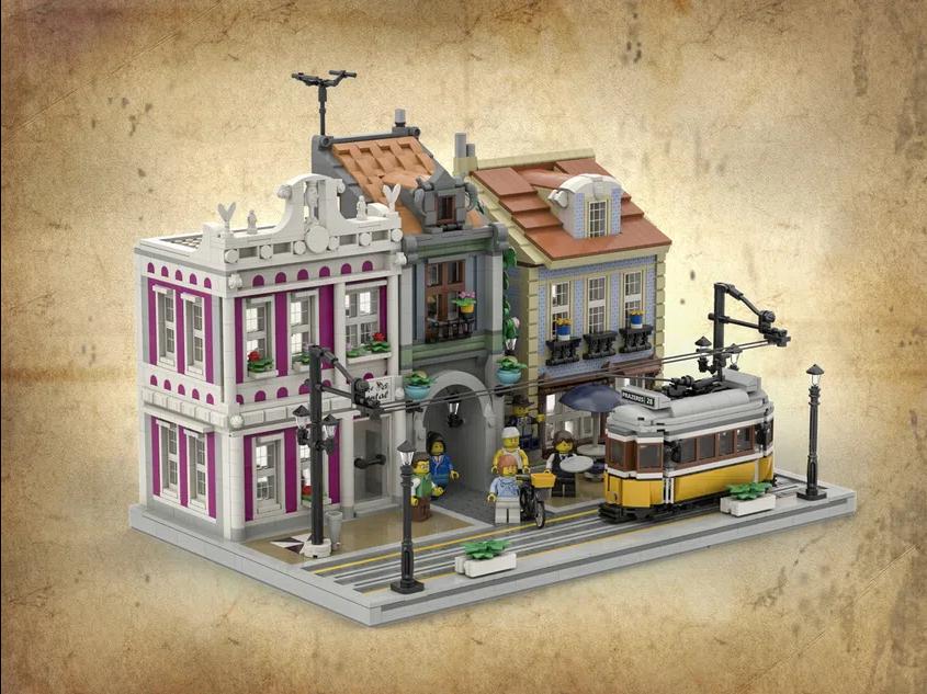 LEGO Ideas lisbon tram 2