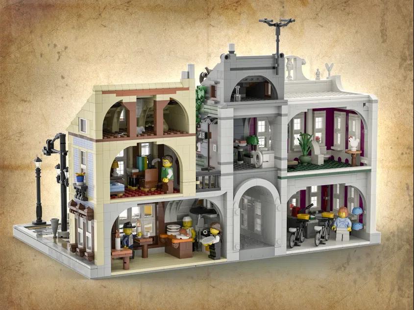 LEGO Ideas lisbon tram 3
