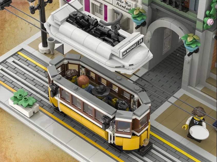 LEGO Ideas Lisbon Tram 4