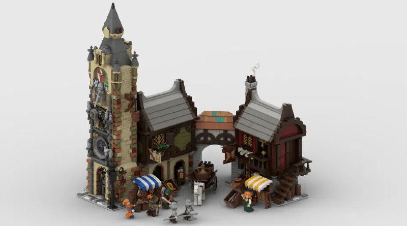 LEGO Ideas Medieval Marketplace Featured