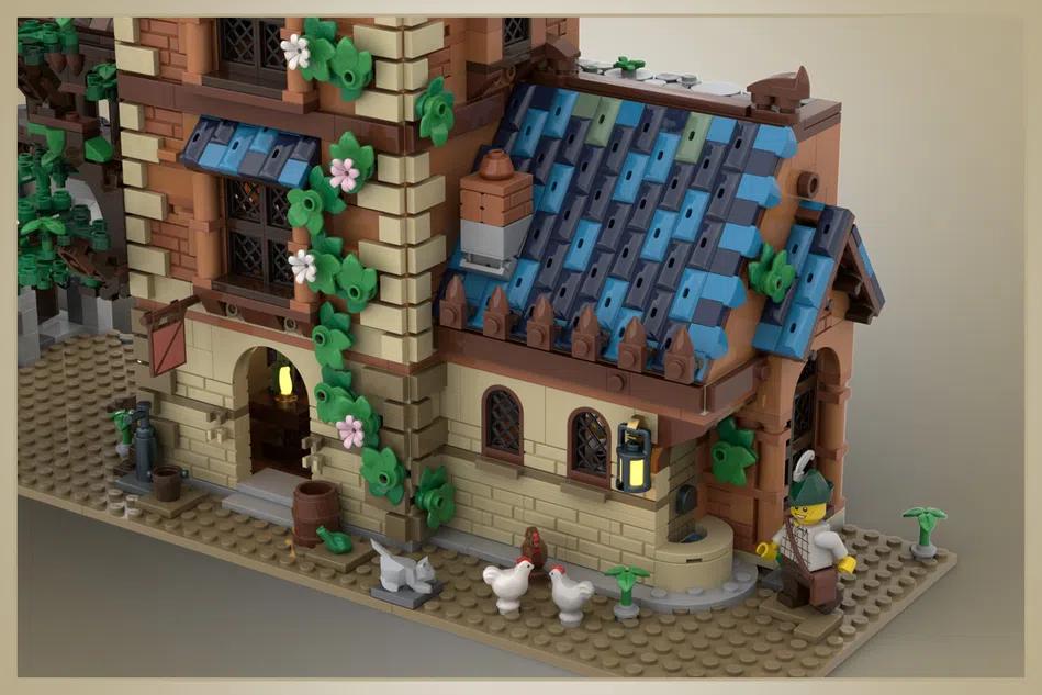 LEGO Ideas medieval tavern 2