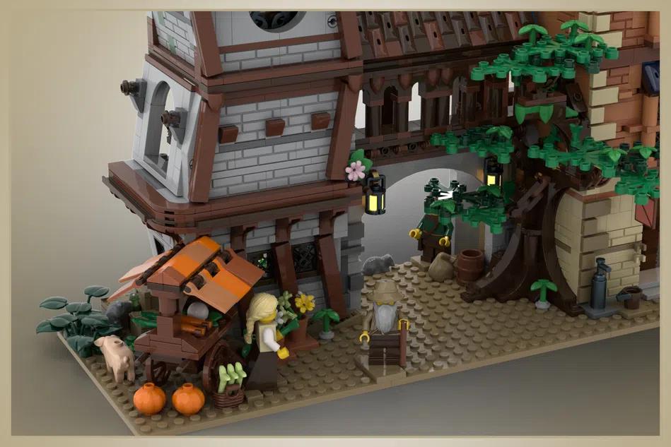 LEGO Ideas medieval tavern 3
