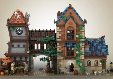 A medieval tavern might be the next LEGO Ideas set