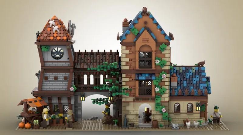 LEGO Ideas Medieval Tavern Featured