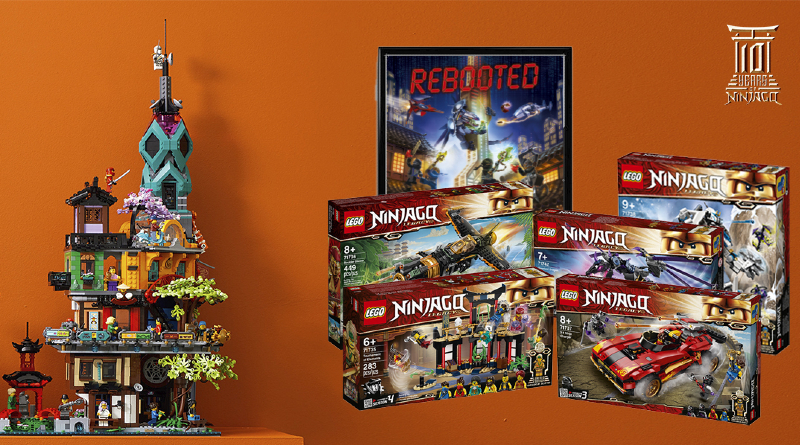 LEGO Ideas Ninjago 10 Years Contest Prize Featured
