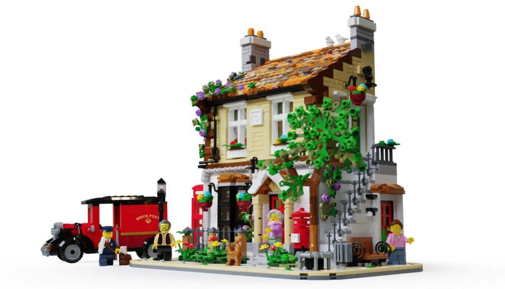 LEGO Ideas post office 1