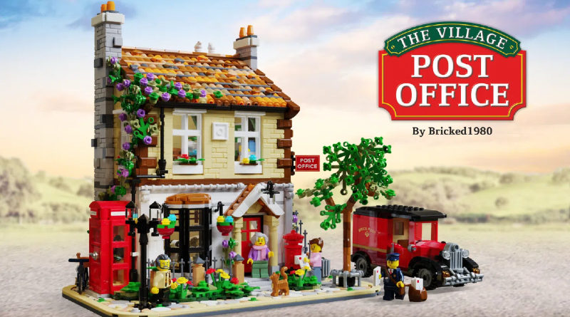LEGO Ideas post office featured