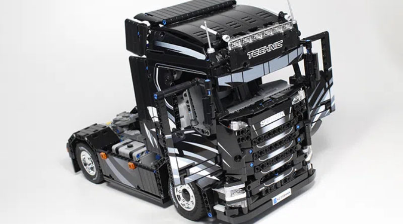 A LEGO Ideas Scania truck project has achieved 10,000 supporters