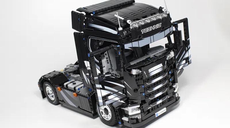 LEGO Ideas Scania Tuck Featured