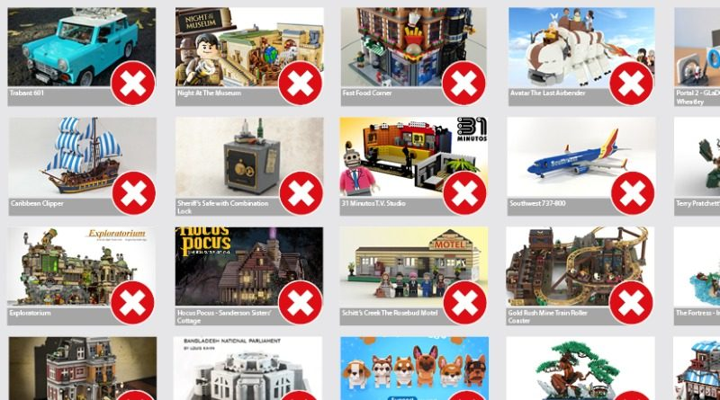 LEGO Ideas second 2020 review results featured