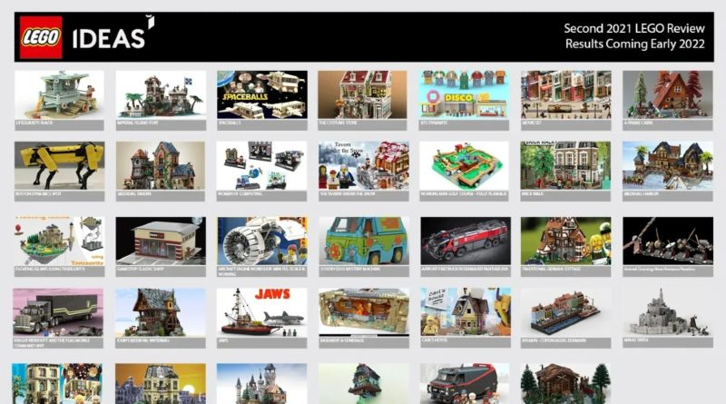 LEGO Ideas second 2021 review stage featured