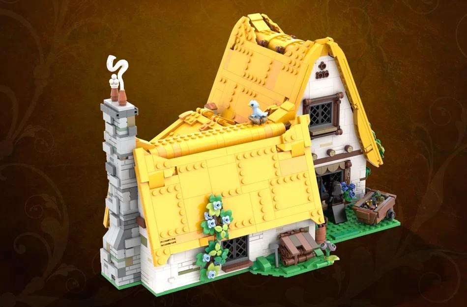 LEGO Ideas snow white back