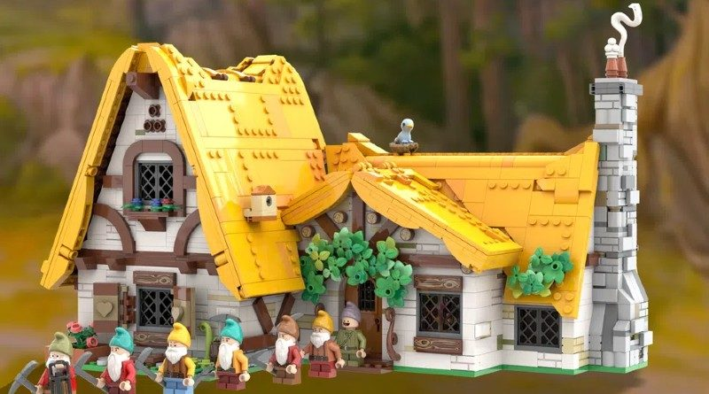Lego Ideas ဆီးနှင်းဖြူ