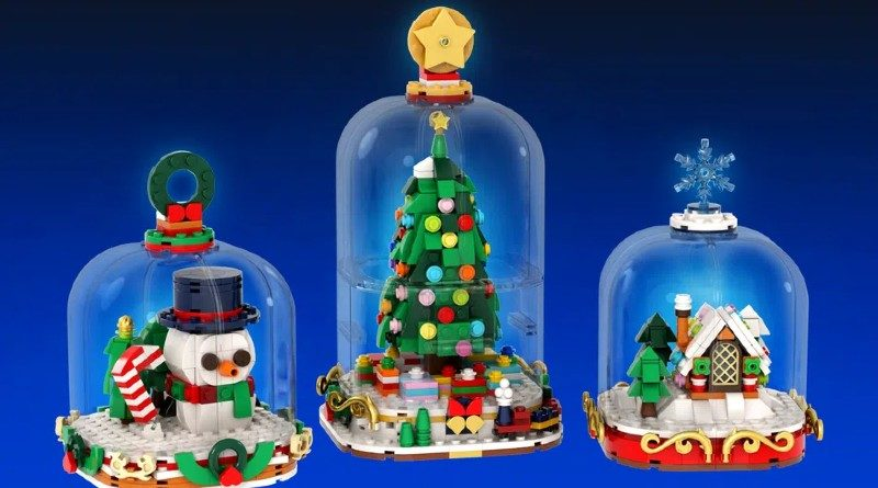 LEGO Ideas Snowglobes Featured 800x445