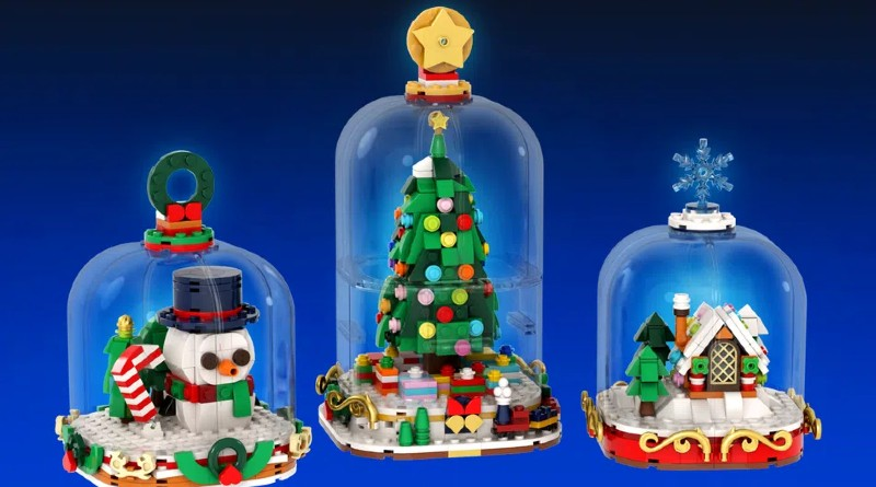 LEGO Ideas snowglobes featured