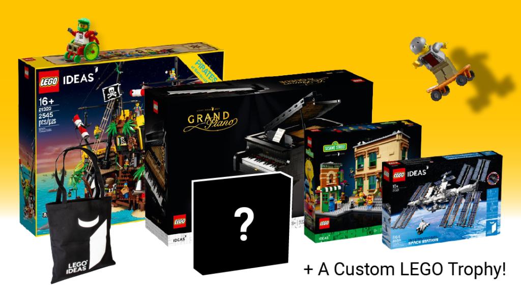 LEGO Ideas sports contest prize new