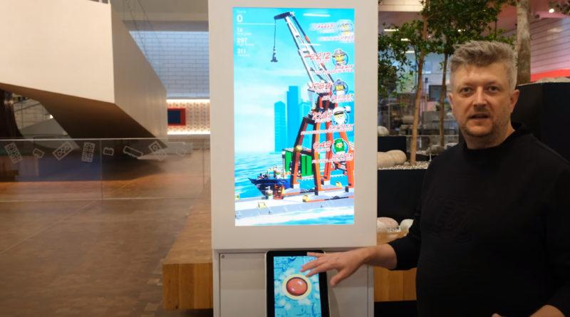 LEGO Ideas store arcade machine first look featured