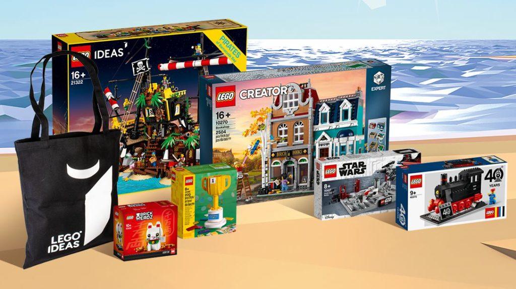LEGO Ideas Summer Holiday Prizes