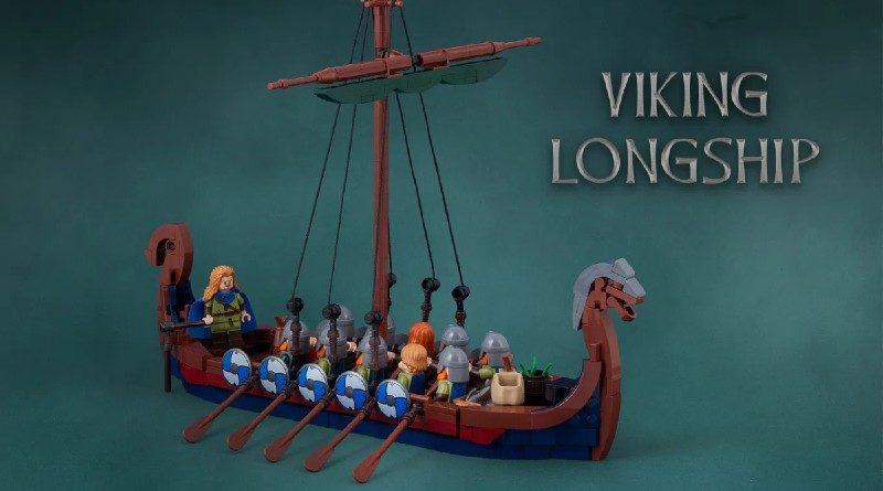 LEGO Ideas Viking Longship Featured 800x445